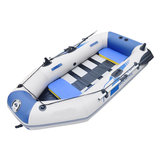 1-2 People PVC Inflatable Canoe Kayak Rubber Fishing Boat