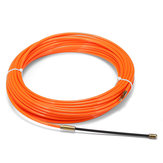 Conduit Nylon Enrouleur de câble de fil de poisson serpent Fil orange 4mm 15m