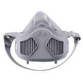 Dustproof Face Mask Haze Filter Respirator Coal Mine Industrial Woodworking Polishing Protection