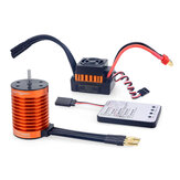 Surpass Hobby F540 Brushless Motor 60A ESC LED Program Card Combo for 1/10 RC Crawler Car Vehicles Model Spare Parts
