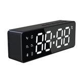Mini réveil numérique électronique multi lecteur de musique Bluetooth Radio FM