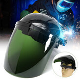 Pro Solar Powered Auto Darkening Welding Helmet Arc Grinding Mask Green