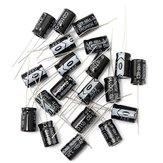 20 قطع 470UF 25 فولت كهربائيا مكثف 25V470UF 8x12 ملليمتر