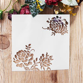 Blooming Flower DIY Cutting Scrapbook Card Photo Album Paper Embossing Craft Decoration