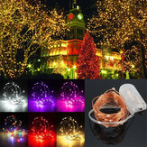 3M Waterdichte LED Batterij Mini LED Koper Wire Fee String Licht Holiday Light Party Christmas
