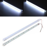 30CM 8520 SMD Cool White LED Rigid Strip Aluminum Milk/Clear Case Tube Light Lamp DC12V