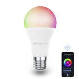 Difeisi DFS-EC-0001 E27 9W WIFI A60 RGB + CCT Smart Bulb 810LM AC220-240V Funziona con Alexa e Google Assistant