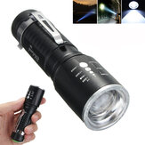 Elfeland 1201 T6 2000LM 5 trybów Zoomable LED Flashlight 18650 / AAA