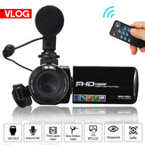 3000W HD Video digital Cámara TFT LCD 18X Zoom Vlog Vlogging Remoe Controller DV