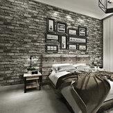 3D効果スレートレンガ壁デカールステッカーフェイク自己接着壁紙テレビ壁の装飾スティック