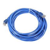 5m Blue Cat5 65FT RJ45 Ethernet Cable For Cat5e Cat5 RJ45 Internet Network LAN Cable Connector