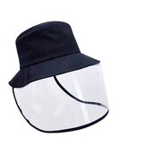 Face Cover Epidemic Protection Hat Anti Saliva UV Hat