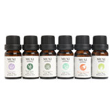 6Pcs Pure & Natural Essential Oils Humidifier Aromatherapy Fragrance 10ml Set