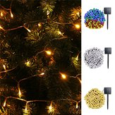 solare Modalità 10M 8 alimentate 70 LED String Light Outdoor Holiday Holiday lampada