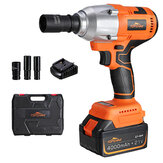 Original              TOPSHAK TS-PW3 550N.m Max 3000 BPM Brushless Cordless Electric Impact Wrench Repairing Tools Woodworking Tools for DIY with Lithium Ion Battery