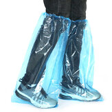 25 par Jednorazowe pokrowce na buty PVC Wodoodporne PVC Ochrona przed deszczem Unisex Buty Pokrowce Buty Akcesoria