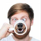 Buffo cane naso caffè tè tazza creativa pet Alla naso regalo tazza di acqua di ceramica per gli amici