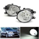 9 LED tågeforlygtekørelampe med pærer 6000K hvid til Toyota Corolla Camry Highlander Avalon til Lexus