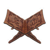 I slamic Quran Koran Book Holder Wood Stand For Quran Home Decorations