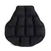 Almofada de assento pneumático 3D inflável para motocicleta Cruzador Touring Sela de alívio de pressão