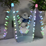 Geekcreit® DIY Light Control Full Color LED Kit de torre de árbol de Navidad de gran tamaño