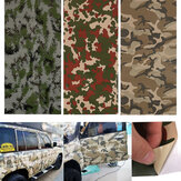 150X60cm Camo Camouflage Adesivi per auto Foresta Deserto Digitale Vinile Film Wrap Decal Bubble Air Free