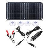 50W Painel Solar Flexível USB 18V Carregador de Smartphone Carregador de Energia Monocristalino Kit de Painel Solar Completo para Barco Car Camping
