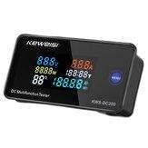 Color LCD رقمي Wattmeter تيار منتظم 0-200V 10A 50A100A Voltmeter Ammeter القوة متر مؤشر مع تحويل