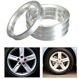 4X hub de alumínio anéis centrados hub carro 60.1 milímetros furo roda 73.1 milímetros para a Toyota Lexus
