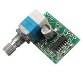 3Pcs Mini PAM8403 3Wx2 5V Dual Channel USB Power Audio Amplifier Board Controle de volume