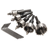 5pcs 16-30mm HSS Hole Saw Cutter Drill Bit Set