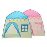 51.2inch Large Comfortable Kids Teepee Play Tent Accommodate 3-4 Children Baby Children Playing Sleeping Playhouse Indoor Outdoor Princess Castle Gifts