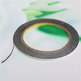 2mmX 10m  Double Sided Adhesive Black Tape Sticker for Cell Phone
