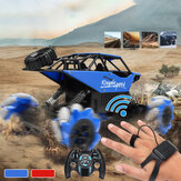 2.4G 4WD Wireless remoto Controllo Off-Road Gesting Sensing RC Stunt Car Outdoor campeggio Giocattoli
