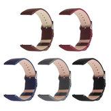 Bakeey 22mm substituição couro relógio de pulso Banda pulseira para Fitbit Versa Watch
