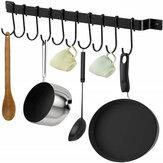 10 шт. Крючки утюг подвесной держатель настенный кухонный стеллаж для хранения посуды
