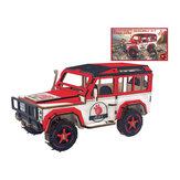 Laserschneiden von Geländefahrzeugen DIY handgemachtes 3D-Holzpuzzle-Modellspielzeug