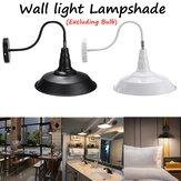 26CM Retro applique da parete vintage americano rustico industriale lampada per corridoio interno camera da letto AC220V