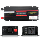 6000W Peak Car Power Inverter LCD Display DC 12 / 24V to AC 110V / 220V Modified Sine Wave Converter
