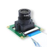 Módulo de Câmera de 5MP OV5647 Olhos de Peixe Câmera de Grande Angular 160 ° Focal Ajustável para Campainha Câmera de Monitoramento