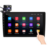 iMars 10.1inch 2Din para Android 8.1 Carro Rádio Estéreo 1 + 16G IPS 2.5D Touch Screen MP5 Player GPS WIFI FM com Câmera de Backup