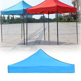3x3m 420D Oxford Camping Tente Top Cover Awning Top Cover Waterproof UV Protection Garden Patio Tent Sunshade Canopy