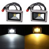 10W 12V LED Flood Spotlightt Работа Лампа с Авто Зарядное устройство Водонепроницаемы Для Кемпинг Путешествия