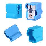 Étui de protection en silicone bleu pour bloc chauffant pour bloc d'impression 3D, pièce V6