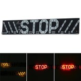 12V 3in1 Motorcycle Stop Tail Light LED Brake Light Turn Signal Strip Lamp Waterproof