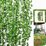 Artificial Trailing Ivy Vine Folha Samambaias Hortaliças Garland Plants Folhagem Flores Decorações