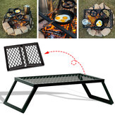 Portable Folding Campfire Grill Rooster Camping BBQ Koken Open Over Fire Outdoor Folding Garden Furniture
