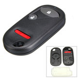 3 Buttons / 2+Panic Blank Case Shell Replace For Honda Civic Element Remote Key