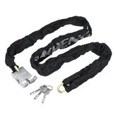Metal Heavy Chain Lock Security Motorcycle Bike Scooter Safety Anti Theft Padlock
