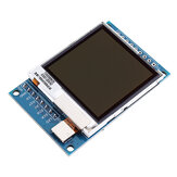1,6-calowy Transflective TFT Moduł wyświetlacza LCD 130X130 Widoczny w świetle słonecznym Port szeregowy SPI 3,3 V 5V